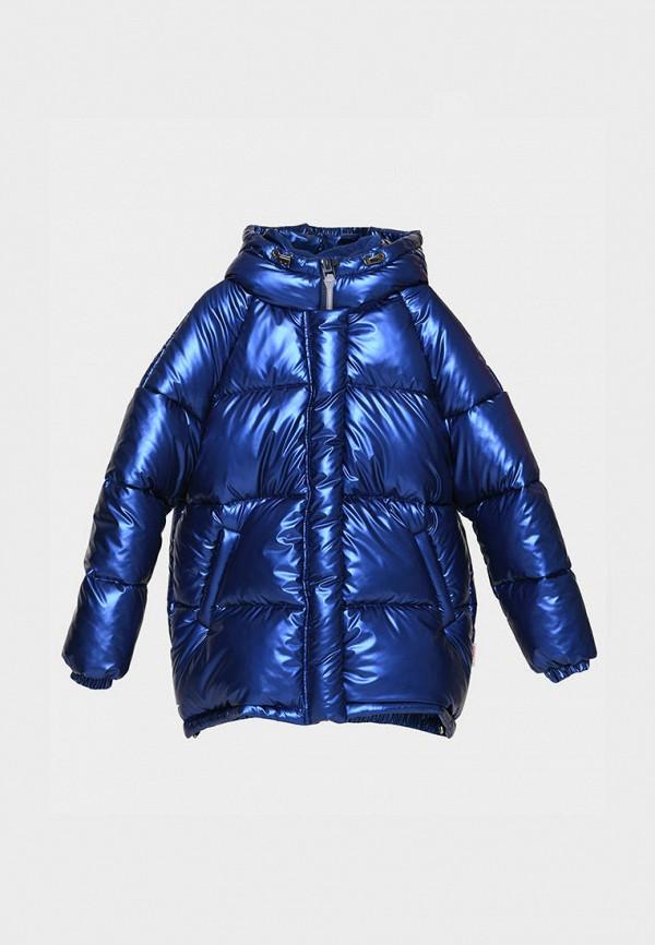 куртка carica&x-woyz для девочки, синяя