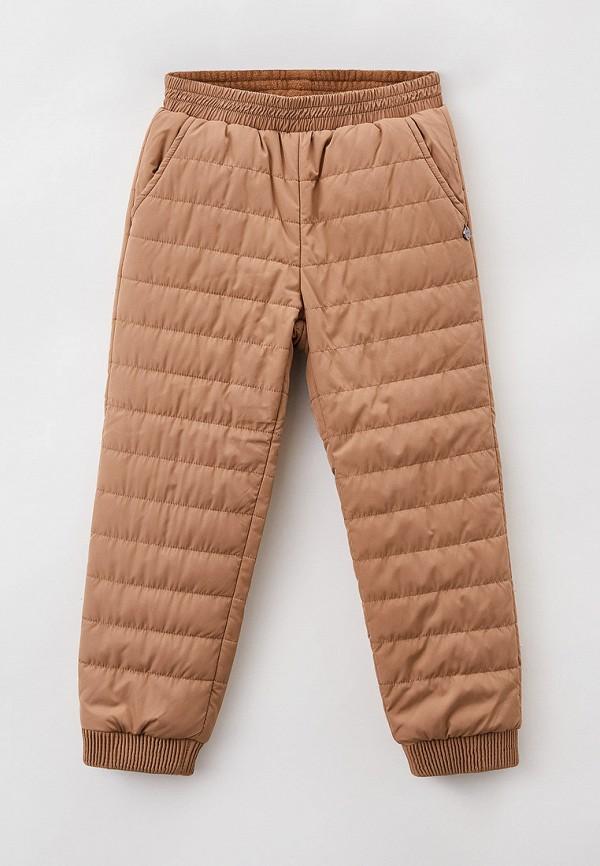 утепленные брюки baon для девочки, бежевые