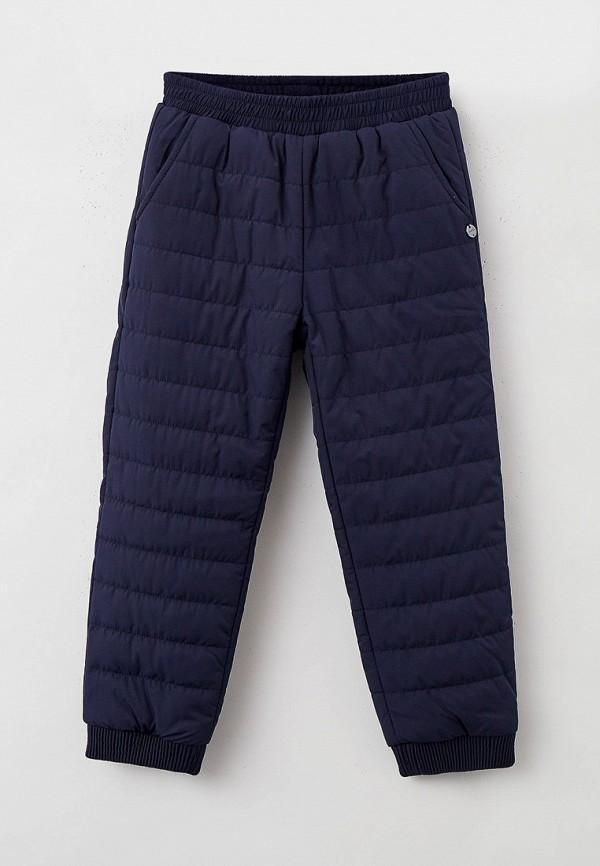 утепленные брюки baon для девочки, синие