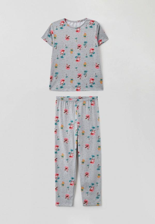 пижама mark formelle для девочки, серая