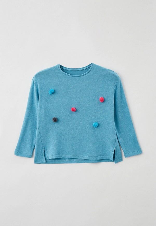 джемпер mark formelle для девочки, голубой