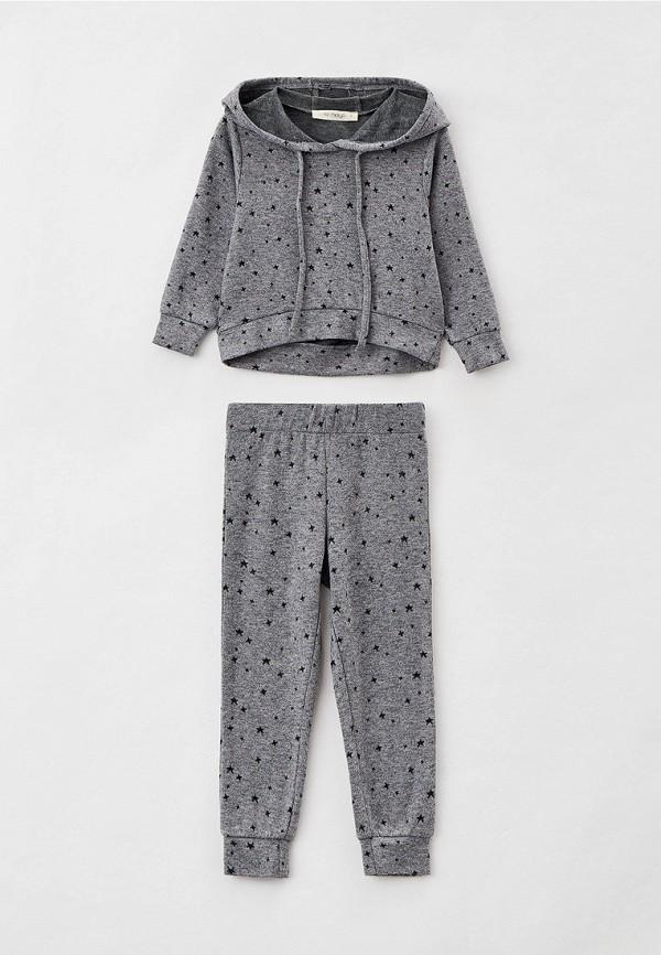 пижама hays для девочки, серая