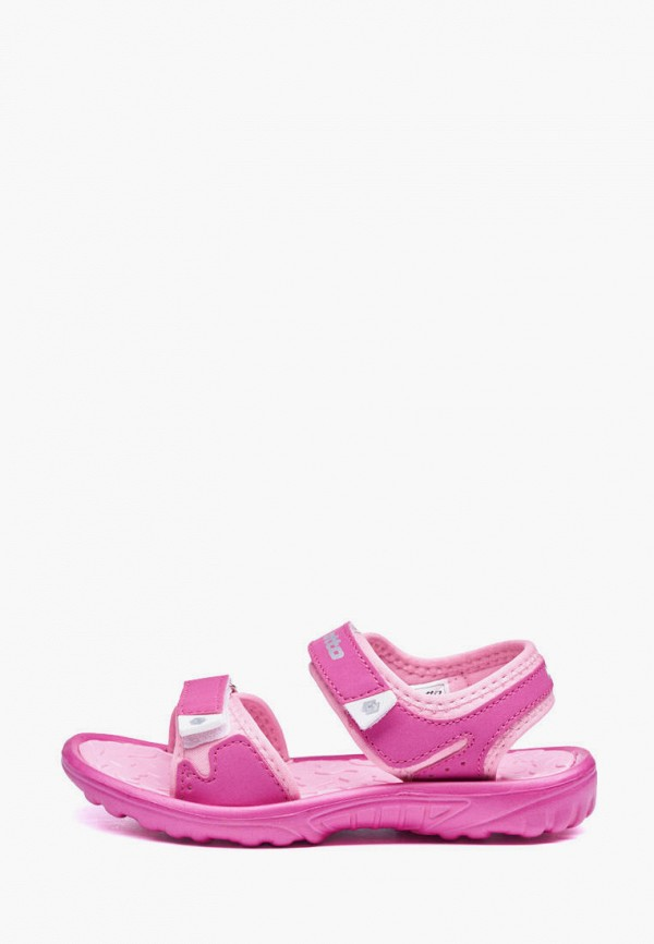 сандалии lotto для девочки, розовые