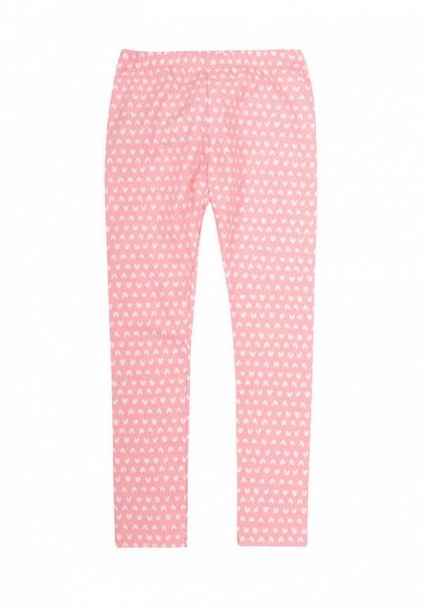 леггинсы бемби для девочки, розовые