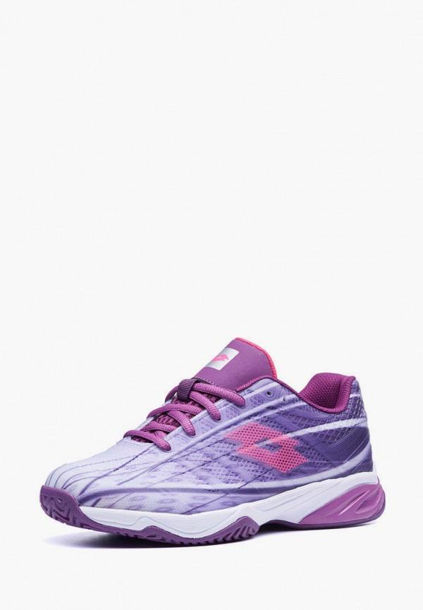 кроссовки lotto для девочки, фиолетовые