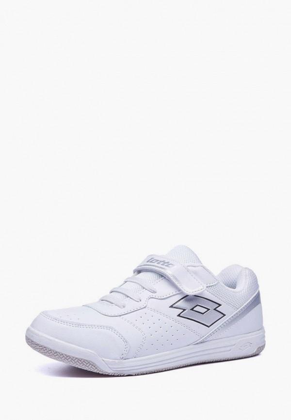 кроссовки lotto для девочки, белые