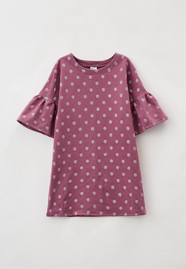 повседневные платье youlala для девочки, фиолетовое