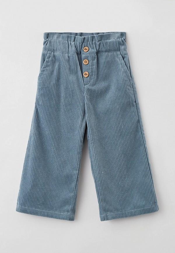брюки sela для девочки, бирюзовые