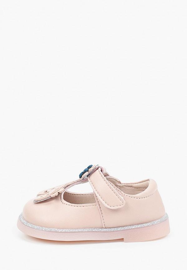 туфли капитошка для девочки, розовые