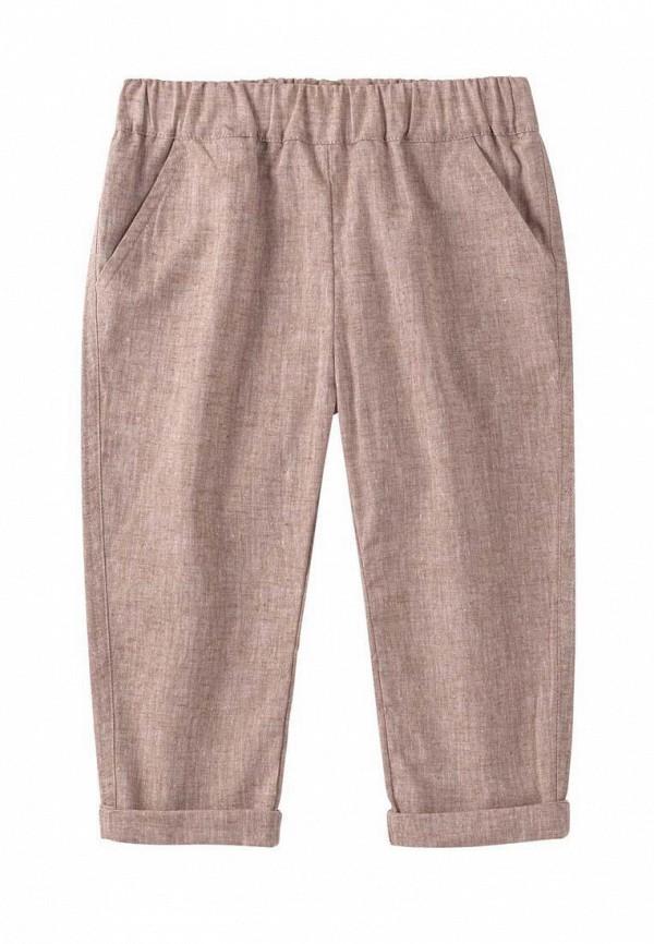 брюки бемби для девочки, коричневые