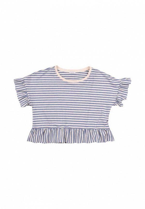 футболка с коротким рукавом бемби для девочки, синяя