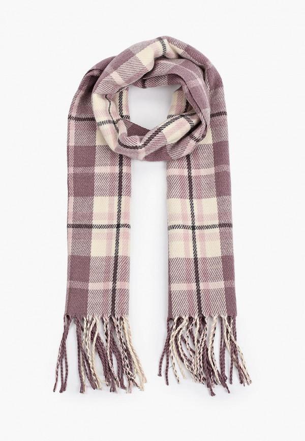 шарф sela для девочки, разноцветный