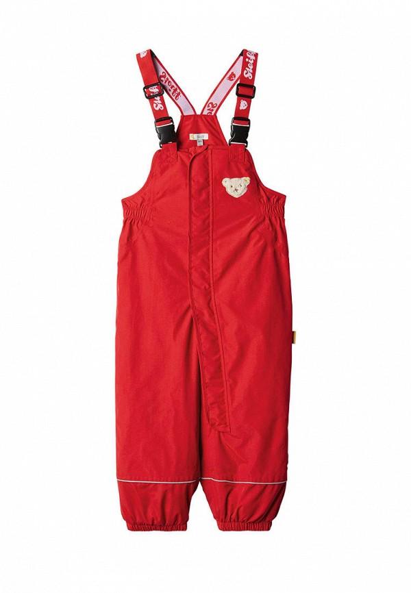 брюки steiff для девочки, красные