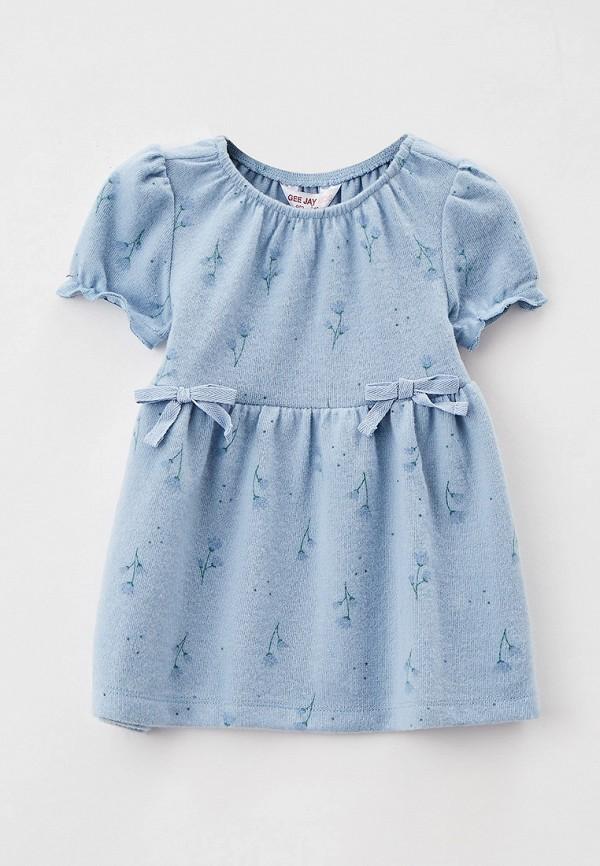 повседневные платье gloria jeans для девочки, голубое