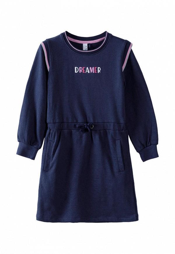 повседневные платье 5.10.15 для девочки, синее