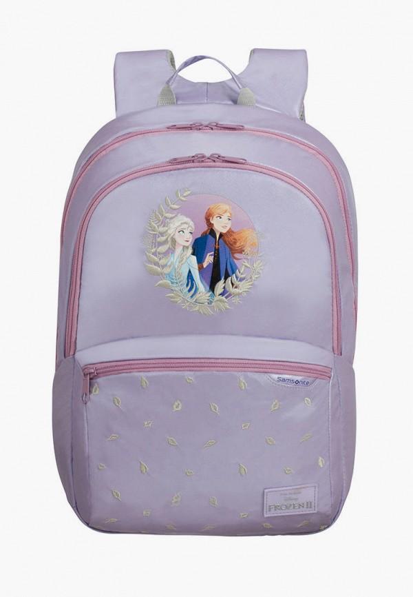 рюкзак samsonite для девочки, фиолетовый