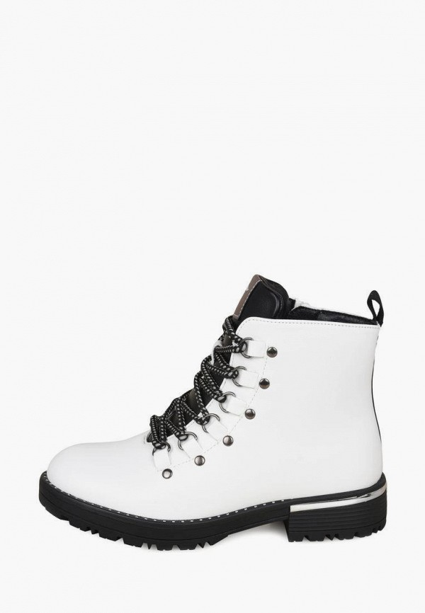 ботинки t.taccardi для девочки, белые