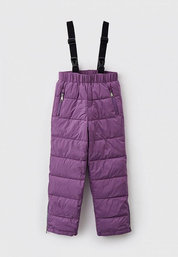утепленные брюки baon для девочки, фиолетовые