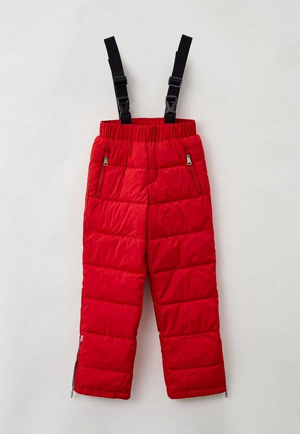 утепленные брюки baon для девочки, красные