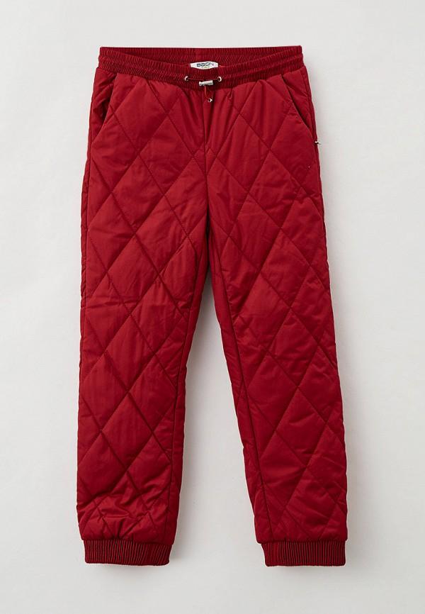 утепленные брюки baon для девочки, бордовые