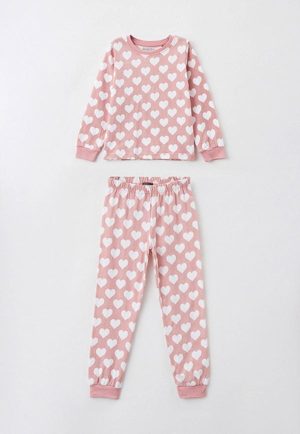 пижама baon для девочки, розовая