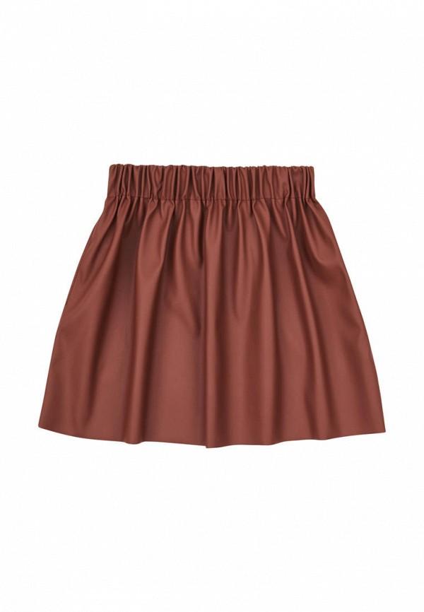 юбка garnamama для девочки, коричневая