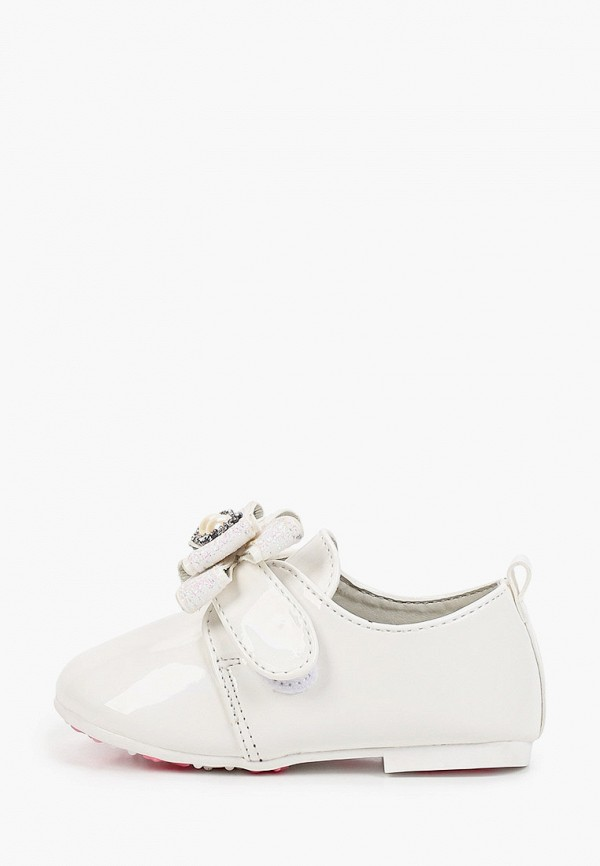 туфли капитошка для девочки, белые