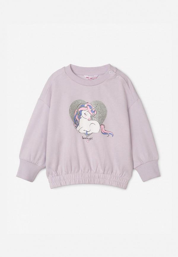 свитшот gloria jeans для девочки, фиолетовый