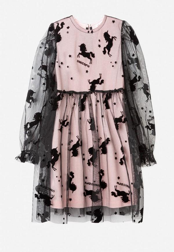 повседневные платье gloria jeans для девочки, розовое
