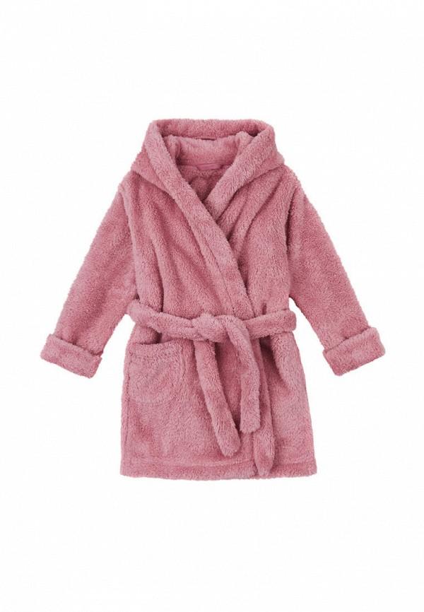 халат garnamama для девочки, розовый