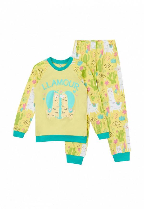 пижама garnamama для девочки, желтая