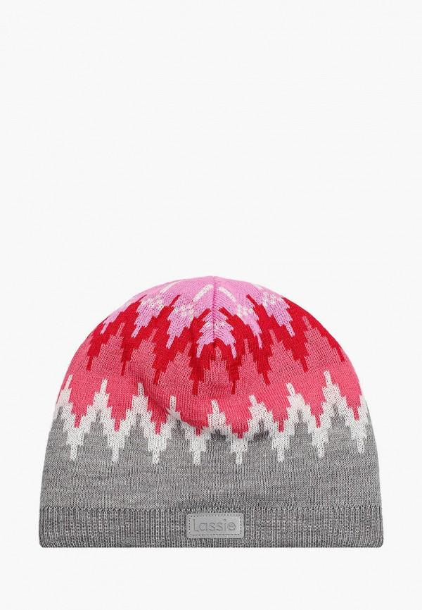 шапка lassie by reima для девочки, разноцветная