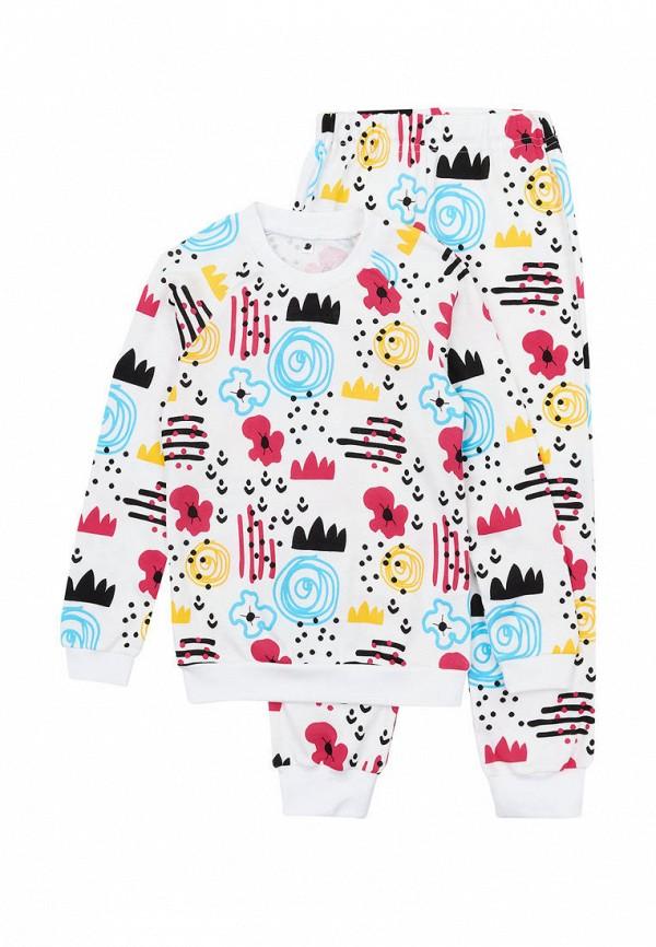 пижама garnamama для девочки, белая