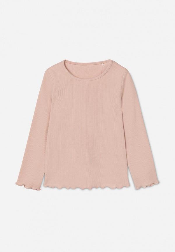 лонгслив gloria jeans для девочки, розовый