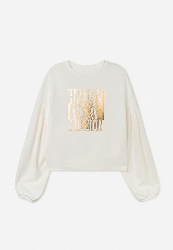 свитшот gloria jeans для девочки, белый