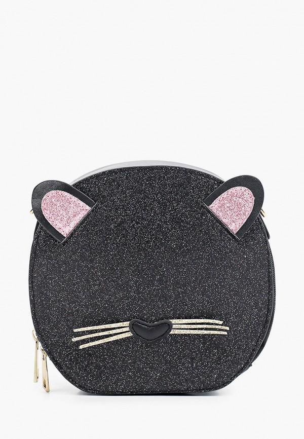 сумка mursu для девочки, черная