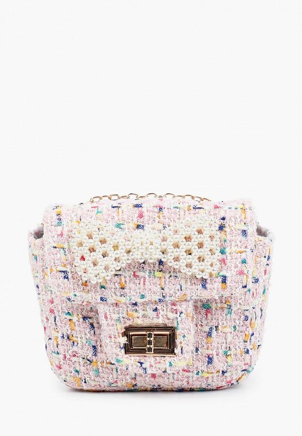 сумка mursu для девочки, розовая