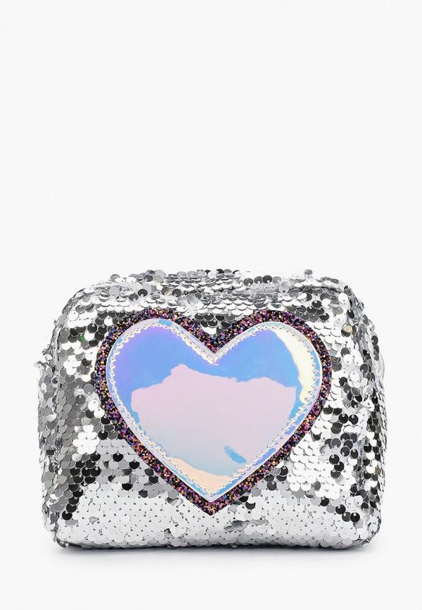сумка mursu для девочки, серебряная