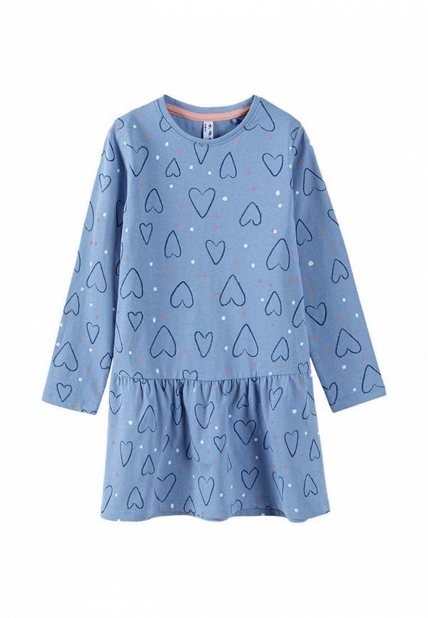 повседневные платье 5.10.15 для девочки, голубое