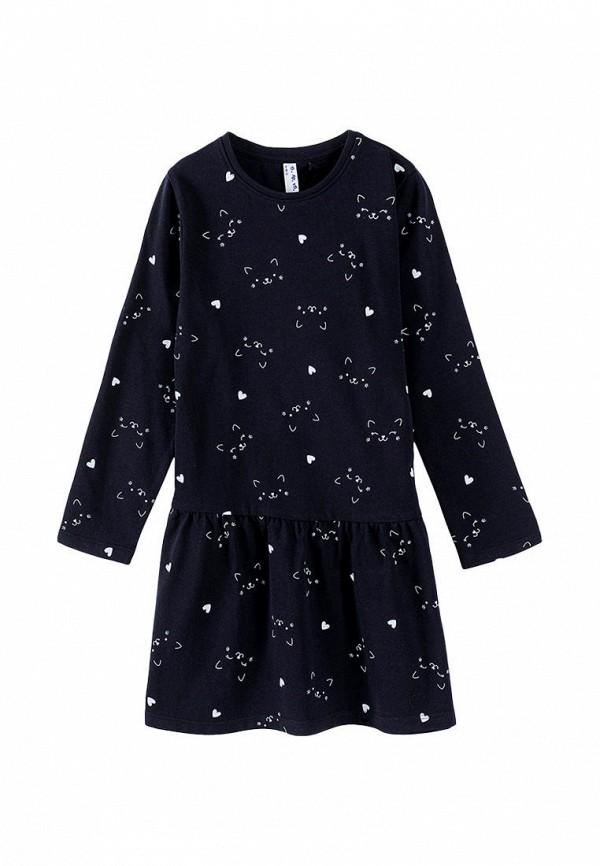повседневные платье 5.10.15 для девочки, черное