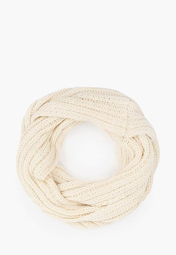 шарф gloria jeans для девочки, белый
