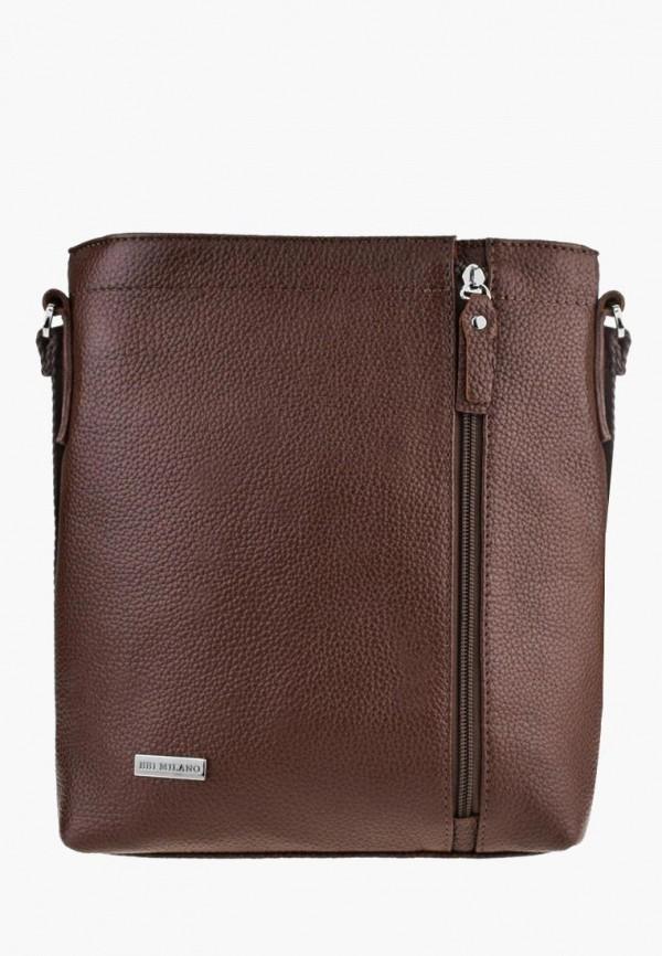 мужская сумка bb1, коричневая