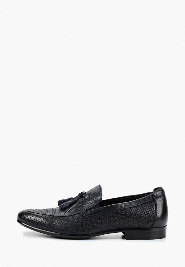 мужские туфли franco bellucci, синие