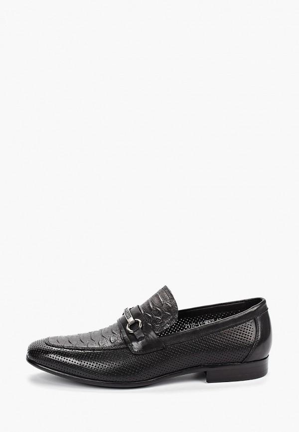 мужские туфли franco bellucci, черные