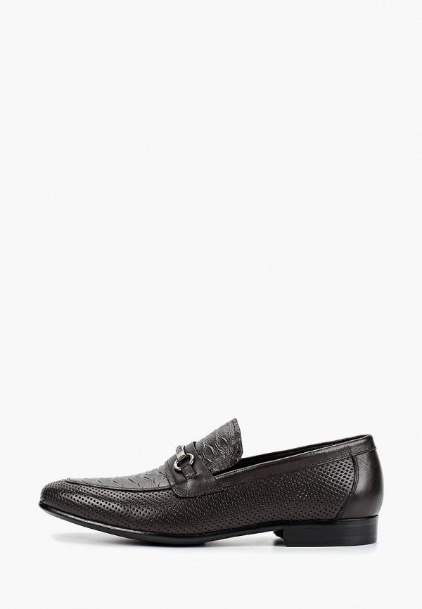 мужские туфли franco bellucci, коричневые
