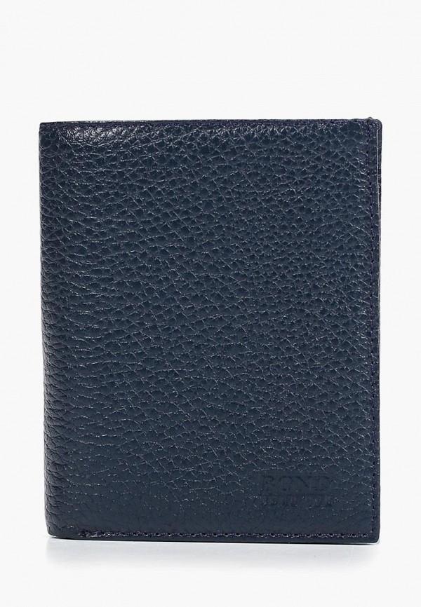 мужской кошелёк bond non, синий