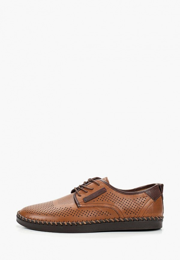 мужские ботинки alessio nesca, коричневые