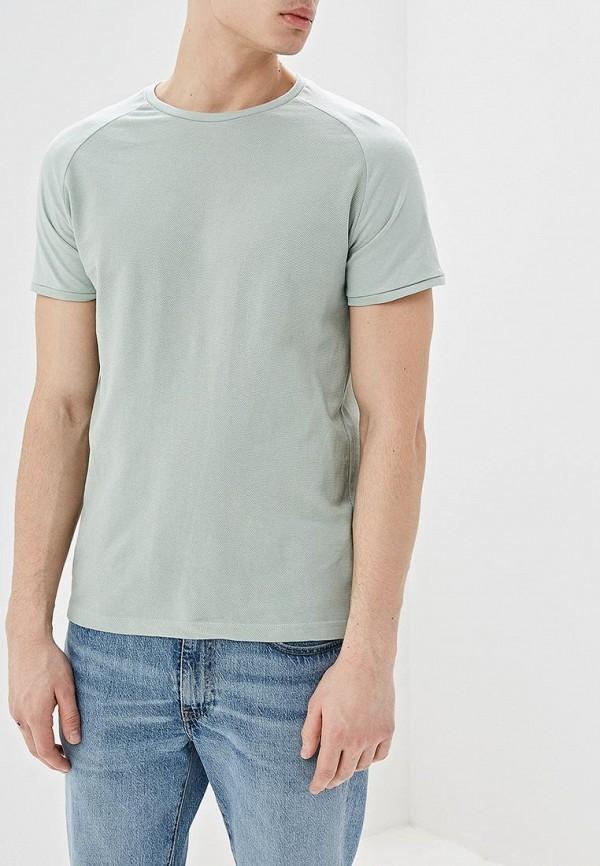 мужская футболка с коротким рукавом top secret, зеленая