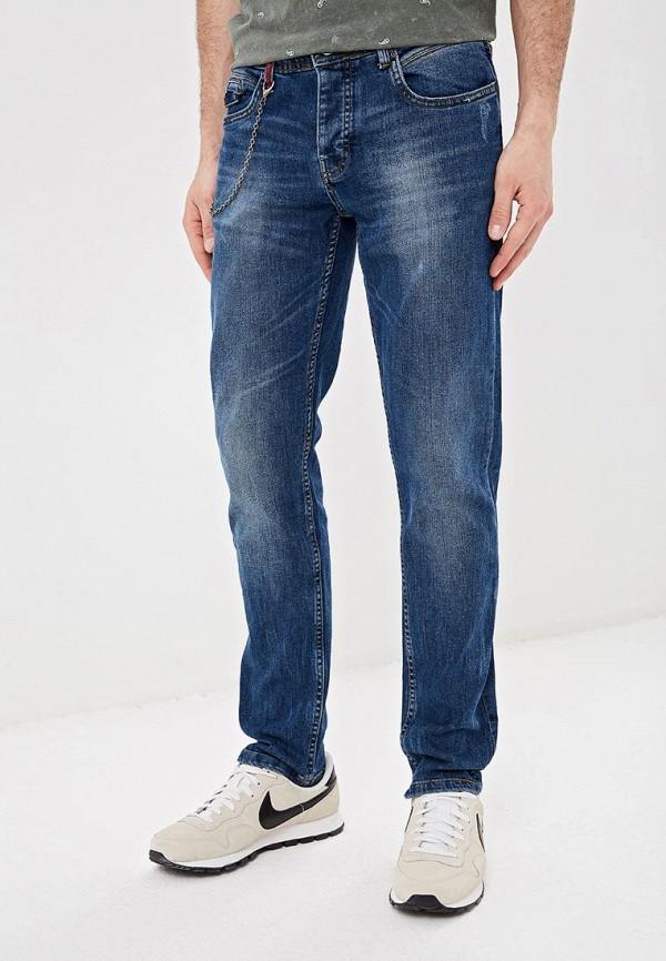 мужские зауженные джинсы top secret, синие