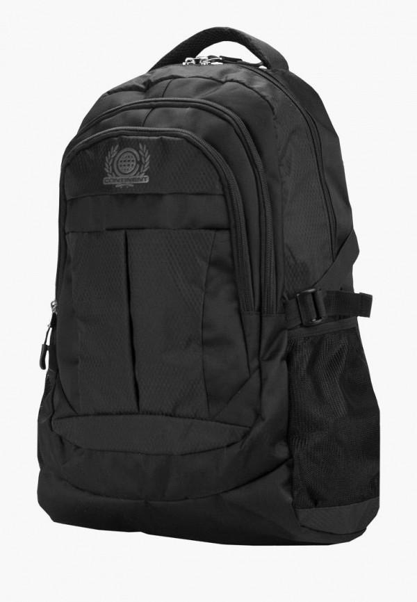 мужской рюкзак continent, черный